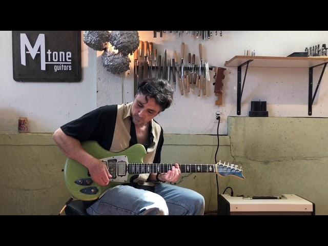 M tone Guitars - Flight Risk 9 - jazz demo