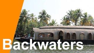 Kerala India BACKWATERS - Life on a HOUSEBOAT