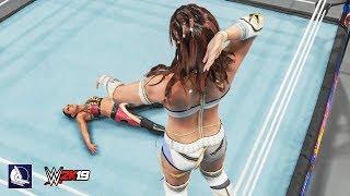 WWE 2K19 All Women