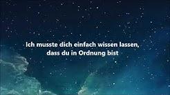 Bazzi - Mine (Deutsche Übersetzung)