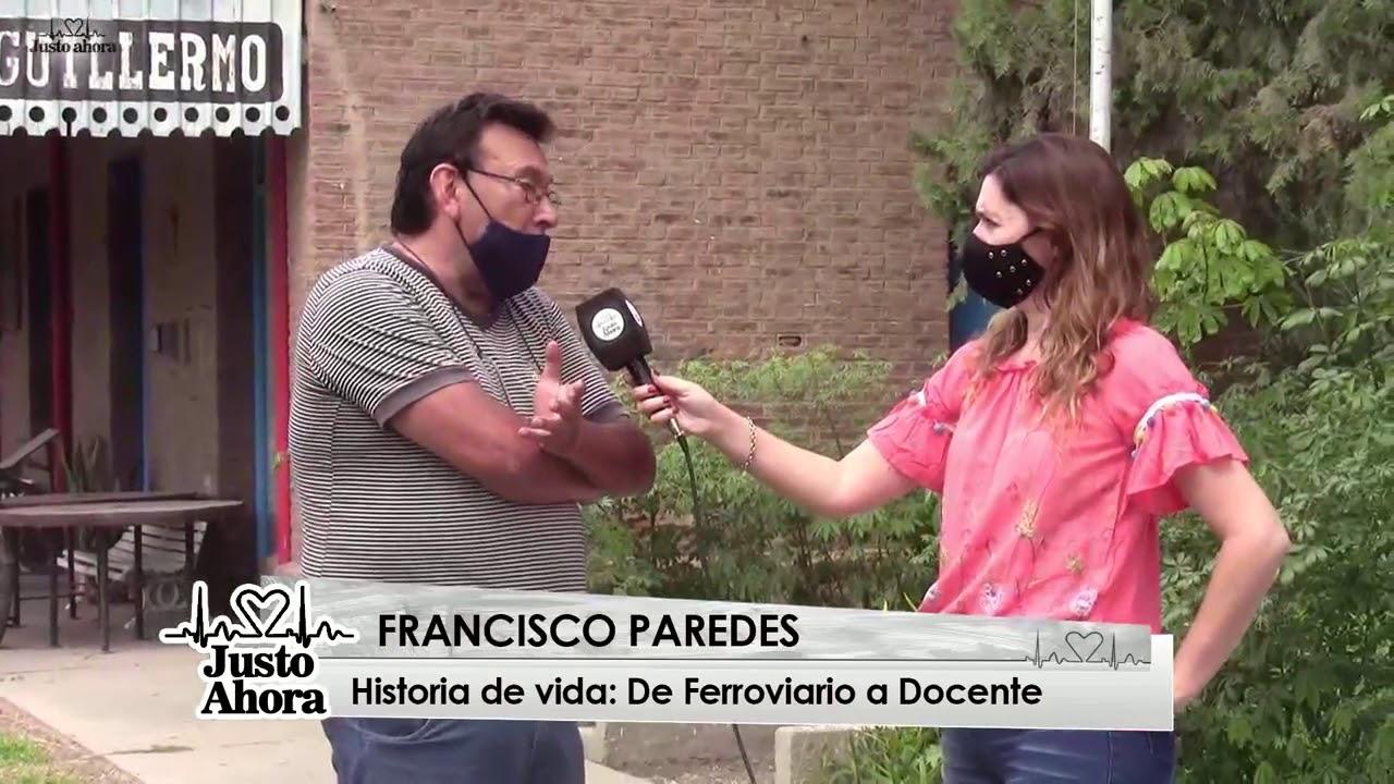 """San Guillermo: Francisco Paredes """"De Ferroviario a docente"""""""