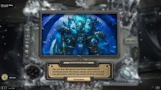 [Hearthstone] Warrior Vs Lich King
