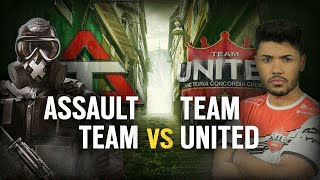 [BR] ASSAULT TEAM vs. TEAM UNITED | Play Day 1 | EliteSix S03 (PC)