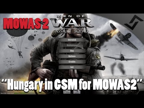 Men of War: Assault Squad 2 - Hungary in GSM for MOWAS 2