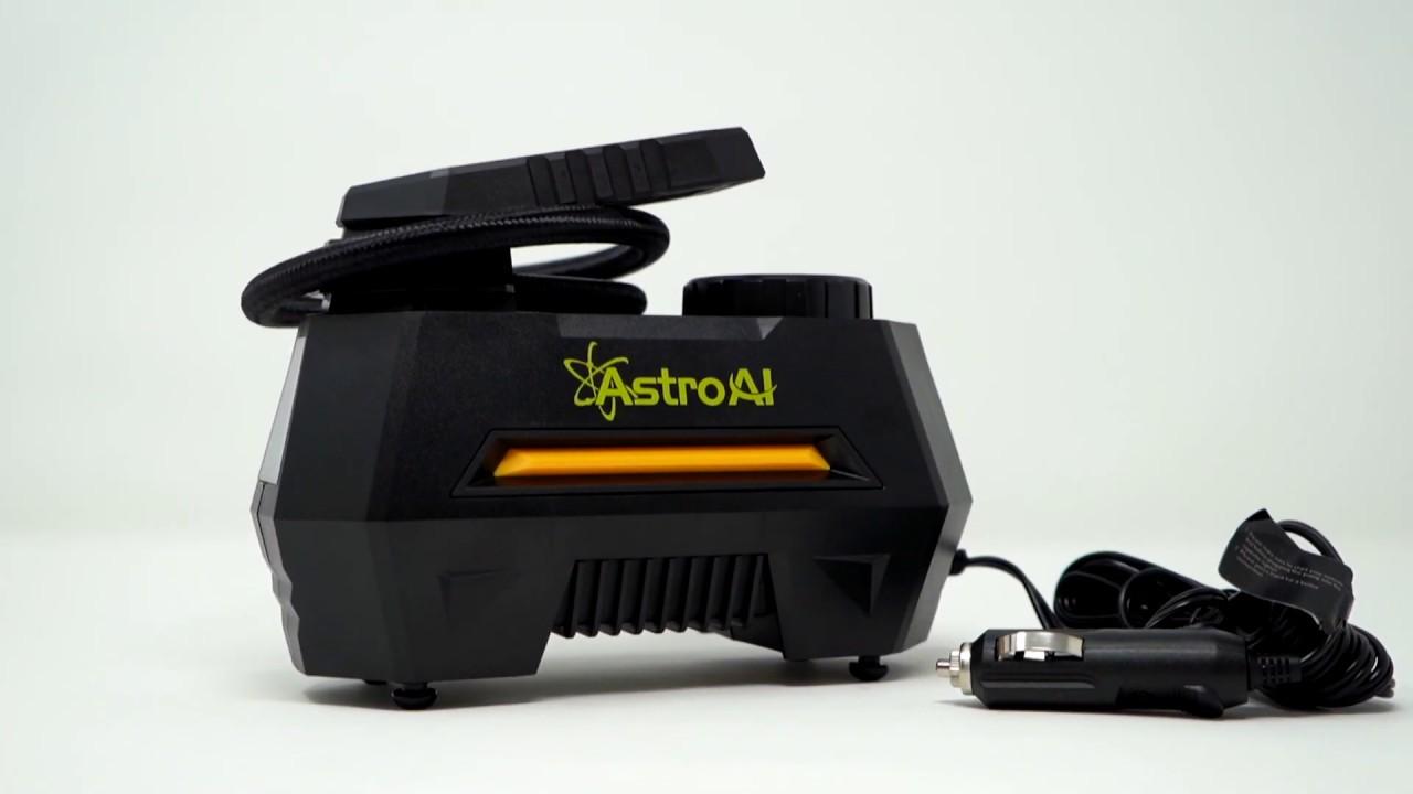 video AstroAI Air Compressor Tire Inflator