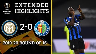 Inter Milan Vs Getafe: Extended Highlights | 2 0 | Ucl On Cbs Sports