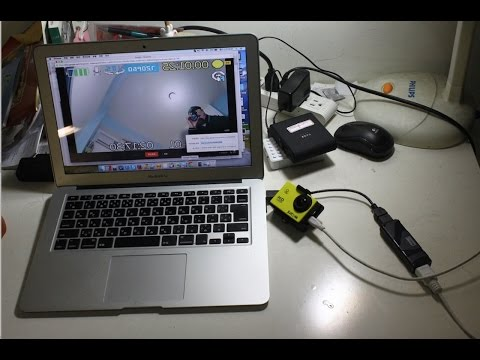 SJ4000 ( GoPro Hero 3+ like) as webcam for MAC skype , Google hangouts , Facetime use