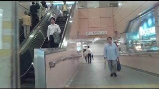 《乗り換え》練馬駅、西武池袋線から都営大江戸線へ。Nerima
