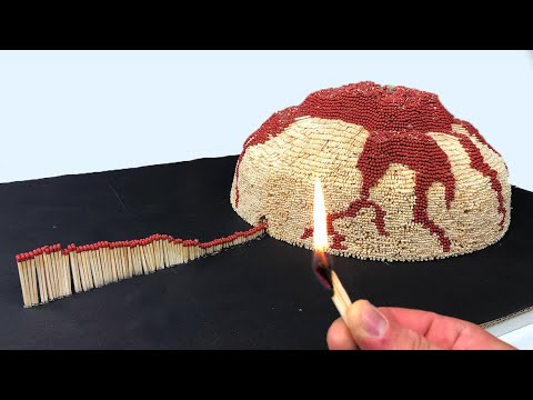 Mel Taylor - Whoa! Why not make a Volcano made out of matches... ?