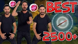Happy Wars Most Powerful Weapon!! - Shia LeBouf Wise Words - 2500+ Damage!