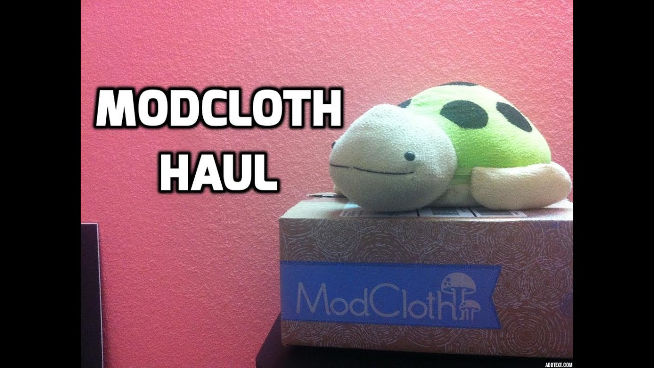 4d49c9568b Modcloth Stylish Surprise Haul 2014 - YouTube