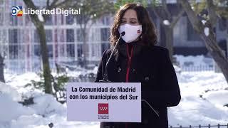 Ayuso pedirá la declaración de la Comunidad de Madrid como zona catastrófica