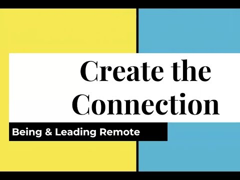 June 2018 TMD: Create the Connection