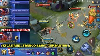 PRANK #3 | FRANCO TUKAR DONG, NANTI KU CARRY GAMENYA PAKAI FRANCO :)