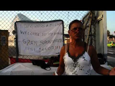 Homeless at Gibraltar Border