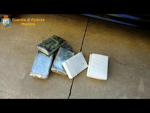 Messina, maxi sequestro di cocaina agli imbarcaderi