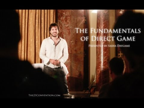 The Fundamentals Of Direct Game | Sasha Daygame | Full Length HD