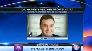 Rechtsfolgen eines Spielabbruchs – Sky Sport Interview mit Anwalt Marius Breucker