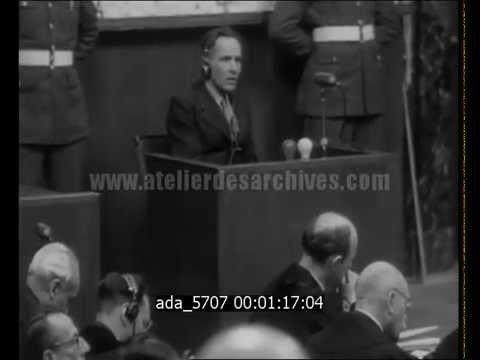 Procès de Nuremberg : Rudolf Hoess et Ernst Kaltenbrunner