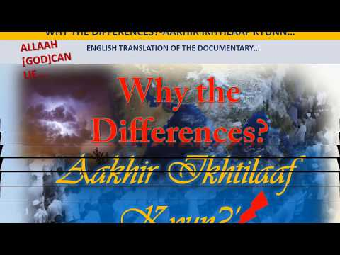 WHY THE DIFFERENCES-BOOKS PROOF-DEOBANDI-BELIEF-KAUKAB NOORANI OKARVI