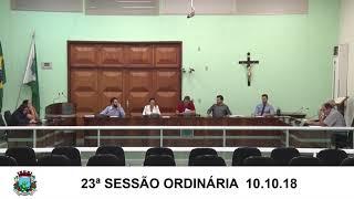 Sessão da Câmara 10.10.18