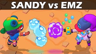SANDY vs EMZ | 1vs1 | 25 Test | Brawl Stars