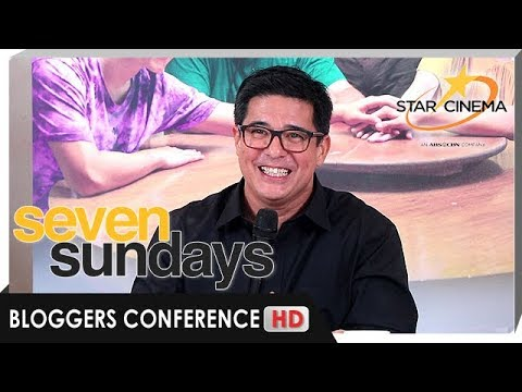 [FULL] 'Seven Sundays' Bloggers Conference with Aga Muhlach