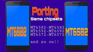 HOW TO PORT BUGLESS LOLIPOP BASE ROMS OF SAME CHIPSET'S [MEDIATEK PHONES]