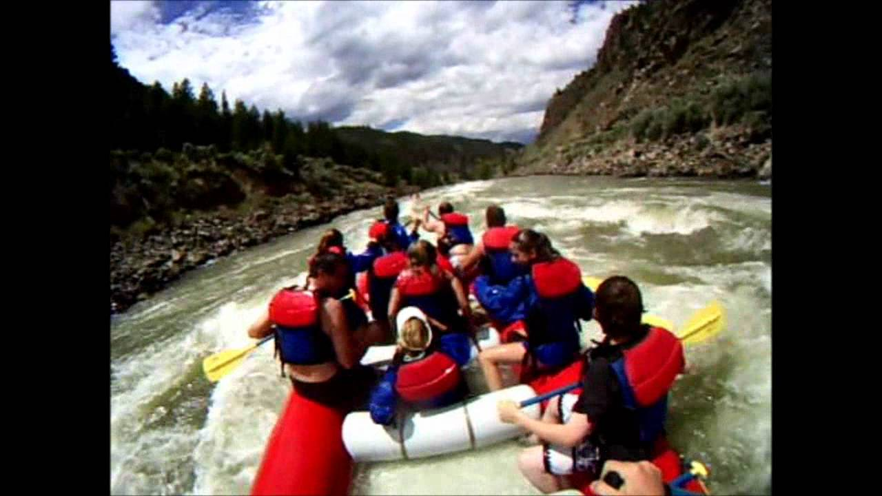 Wild West Rafting on the Yellowstone River: Holly's Hole in Yankee Jim  Canyon