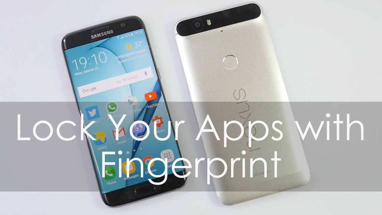 Tech Tips: Lock Android Apps with Fingerprint Scanner ...
