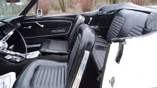 1966 ford mustang white convertible for sale at www coyoteclassics com