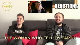 """Doctor Who 11x01 """"The Woman Who Fell to Earth"""" REACTIONS"""