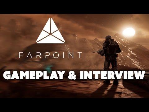 Farpoint Gameplay! - E3 2016 Interview