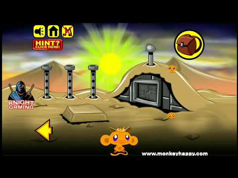 Monkey Go Happy Stage 8 Gameplay Walkthrough Solution How To Solve? Answer #8