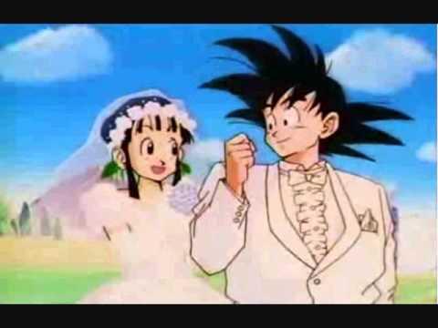 DB GOKU`S Chi Chi\'s WEDDING!!! - YouTube