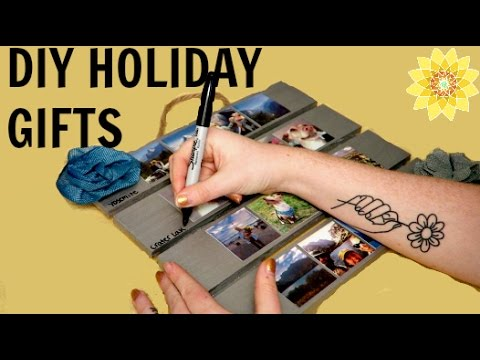 DIY HOLIDAY GIFT IDEAS | MEGHAN HUGHES