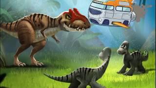 Динозавры на русском языке - Путешествие во времени! - Интерактивная книга для детей