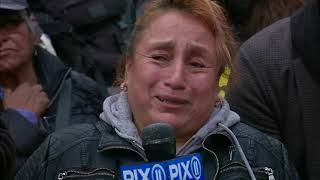 Tearful churro vendor speaks out after NYPD detains her at Brooklyn subway station