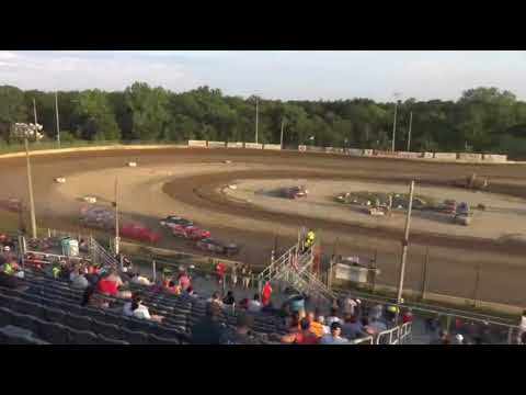 SS - H2. - dirt track racing video image
