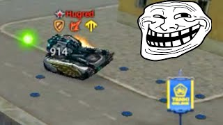 Parkour with Overdrive + Trolling With Mines! Tanki Online Challenges / танки Онлайн
