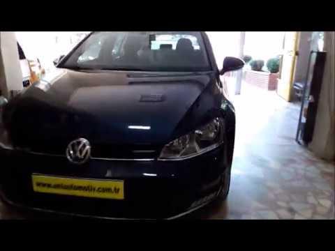 Volkswagen Golf 7 Araca oem tampona içten monte edilen park sensör aşamalı uygulama videosu
