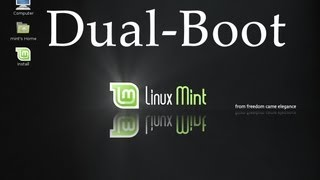 Install Linux Mint 15 Olivia Alongside Windows 7 by AvoidErrors
