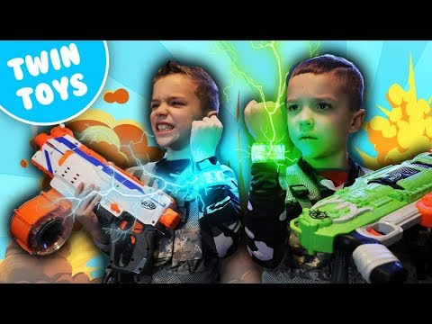 [Nerf Battle] Omni Squad 4 (FUNNY VIDEOS)