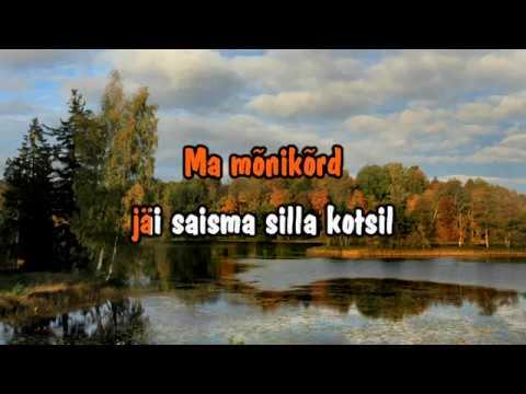 Toivo Nikopensius & Plastmass - Mu latsõpõlvõ Võrumaa (karaoke with lead vocal)