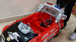 Assembling of wheel power battery operated car 20x8, ride on car, baby car, I net