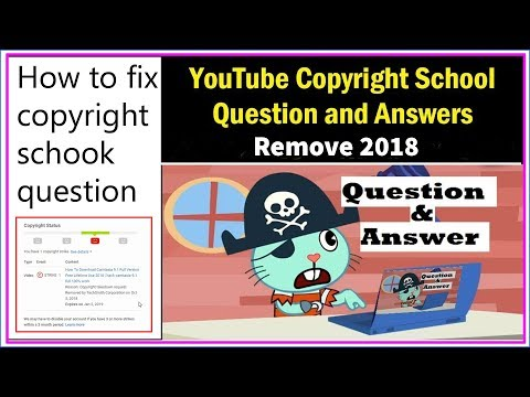 How To Remove Copyright School | All Question And Answers 2018 | Copyright Remove | Logic Learning
