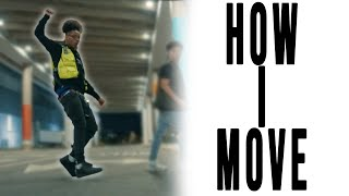 Flipp Dinero - How I Move ft. Lil Baby (Official Dance Video)