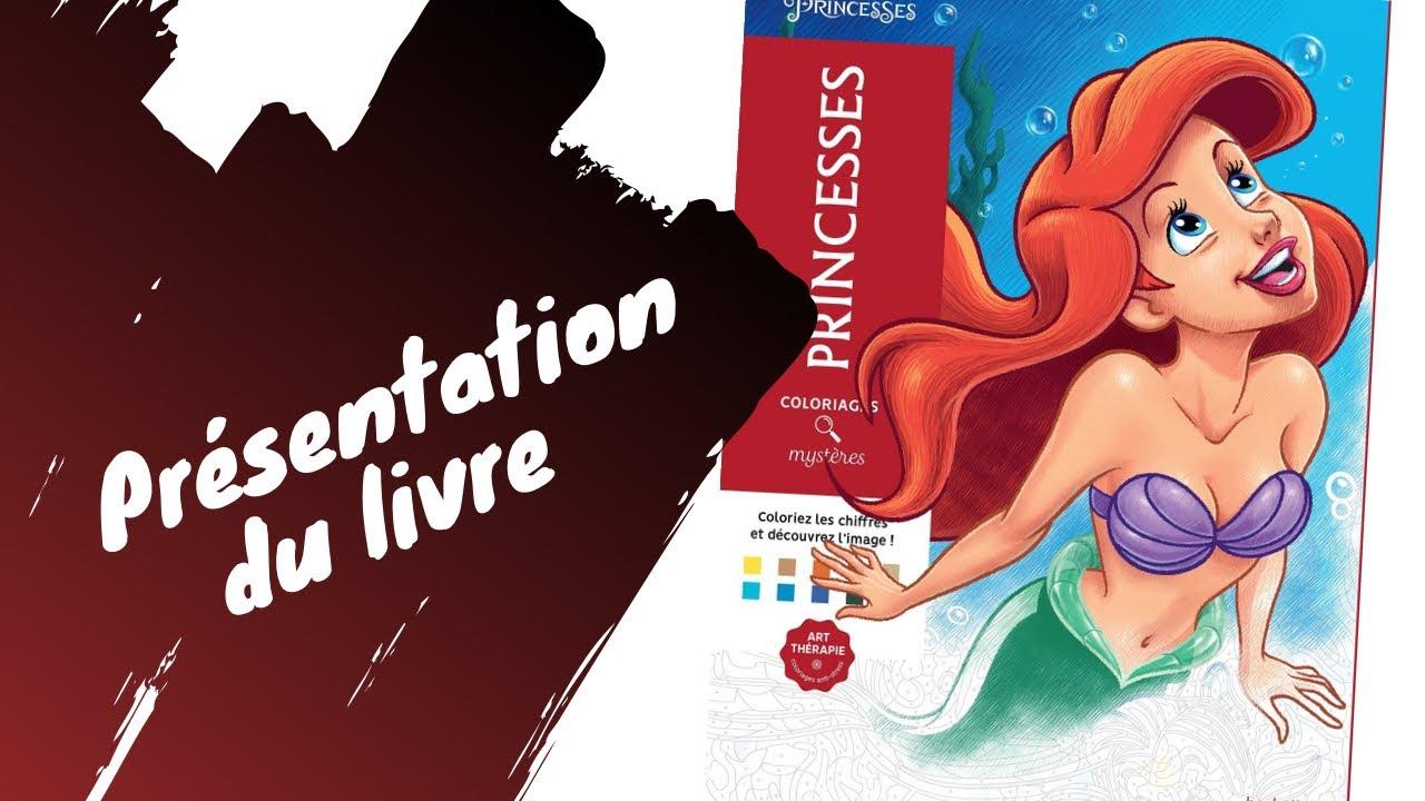 Disney Princesses - coloriages Mystères - Hachette Heroes