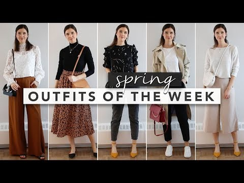 Styling Spring Outfits of the Week | by Erin Elizabeth