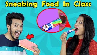 Tricks to Sneak Food Into Class | Back To School Pranks | Hungry Birds